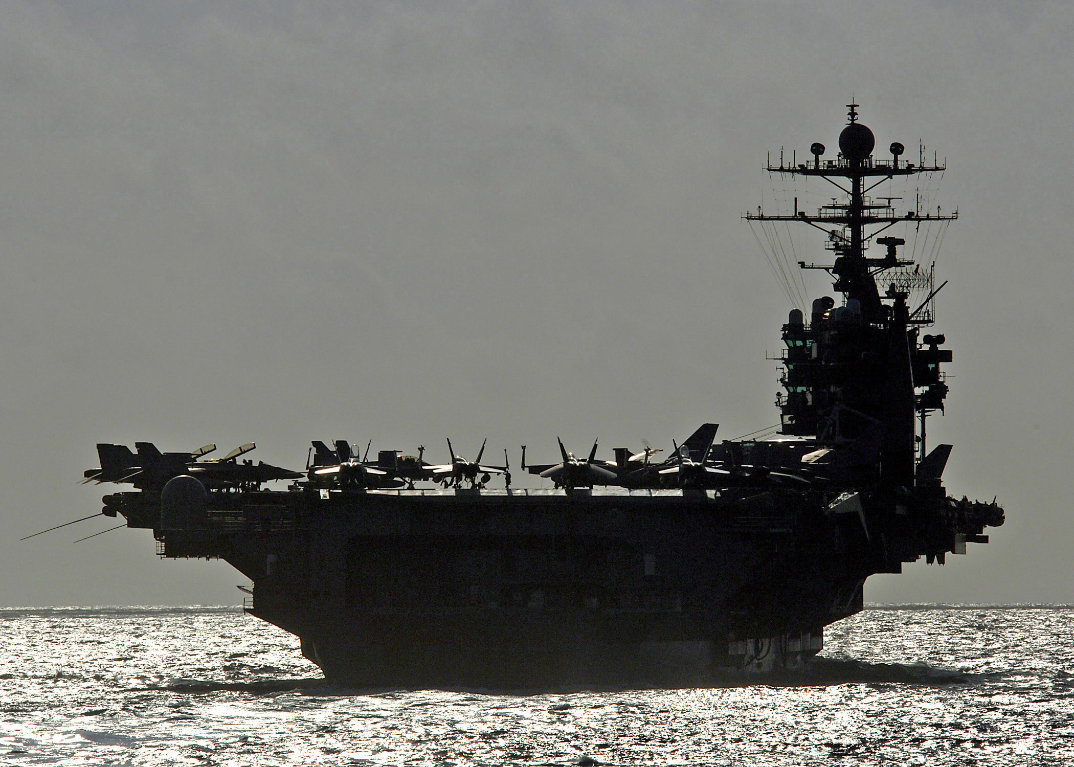 Aircraft Carrier Can't Refuel With Budget Cuts Featured