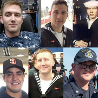 USS John McCain Sailors 1 320x320 - USS John S. McCain sailors posthumously advanced to next rank