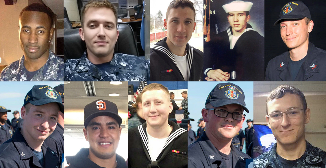 US Navy suspends search; here are the 10 missing sailors from USS John S. McCain collision Featured