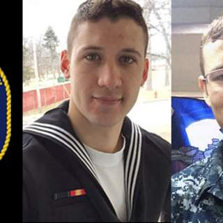 USS John McCain Sailors Smith Doyon 320x320 - Navy recovers another deceased sailor from USS John S. McCain collision, 8 still missing