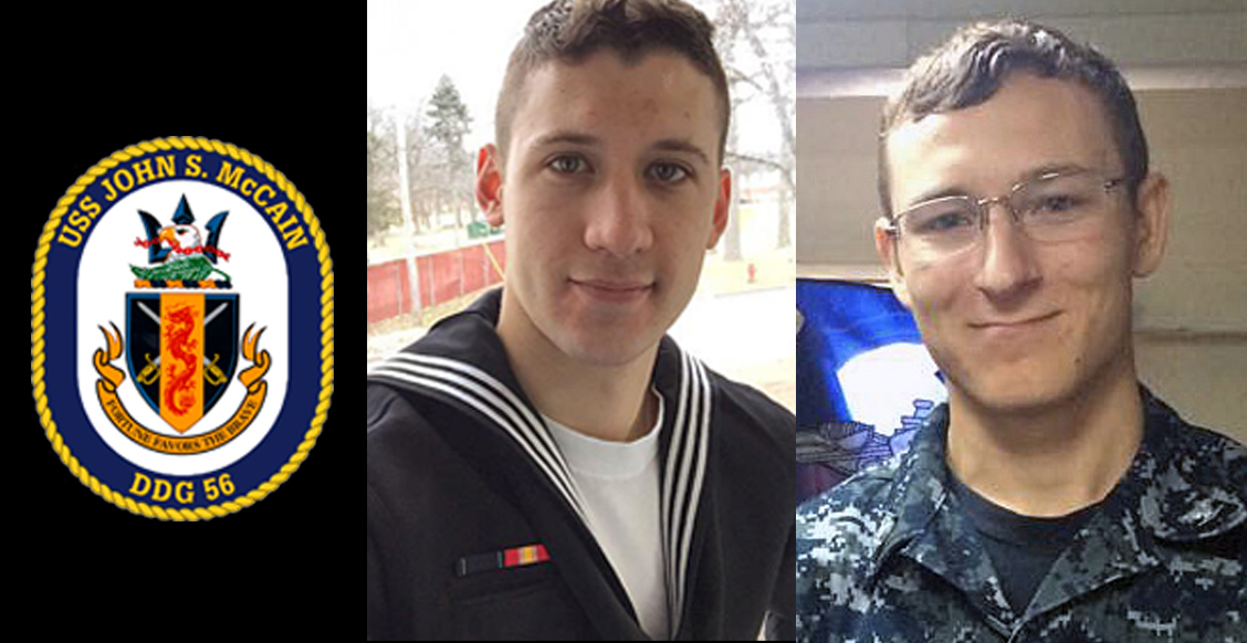 Navy recovers another deceased sailor from USS John S. McCain collision, 8 still missing Featured