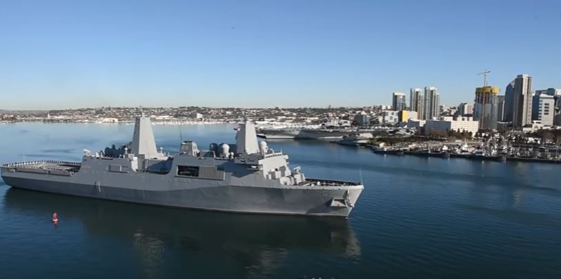 Watch Port Operations Of The USS John P. Murtha And USS Zumwalt Featured