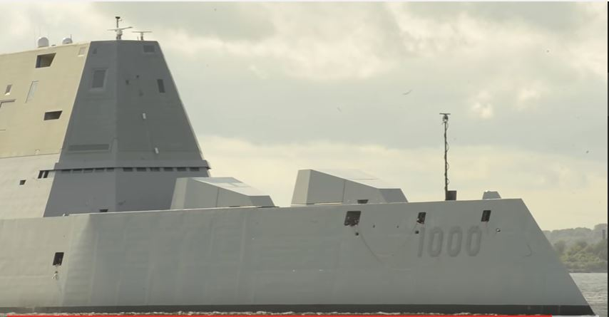 USS Zumwalt - A first look inside life aboard the new class of US Navy stealth destroyer, the USS Zumwalt