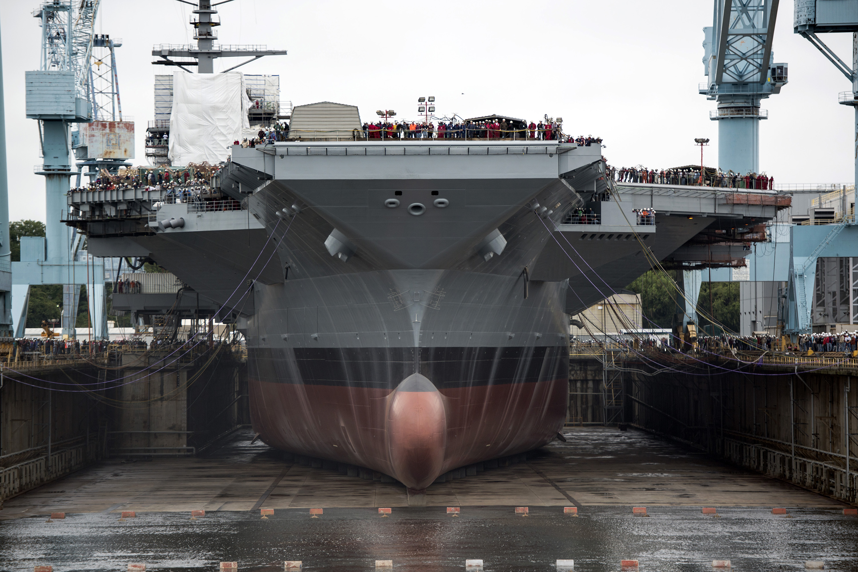 $12.9 Billion U.S. Supercarrier Faces More Setbacks Featured