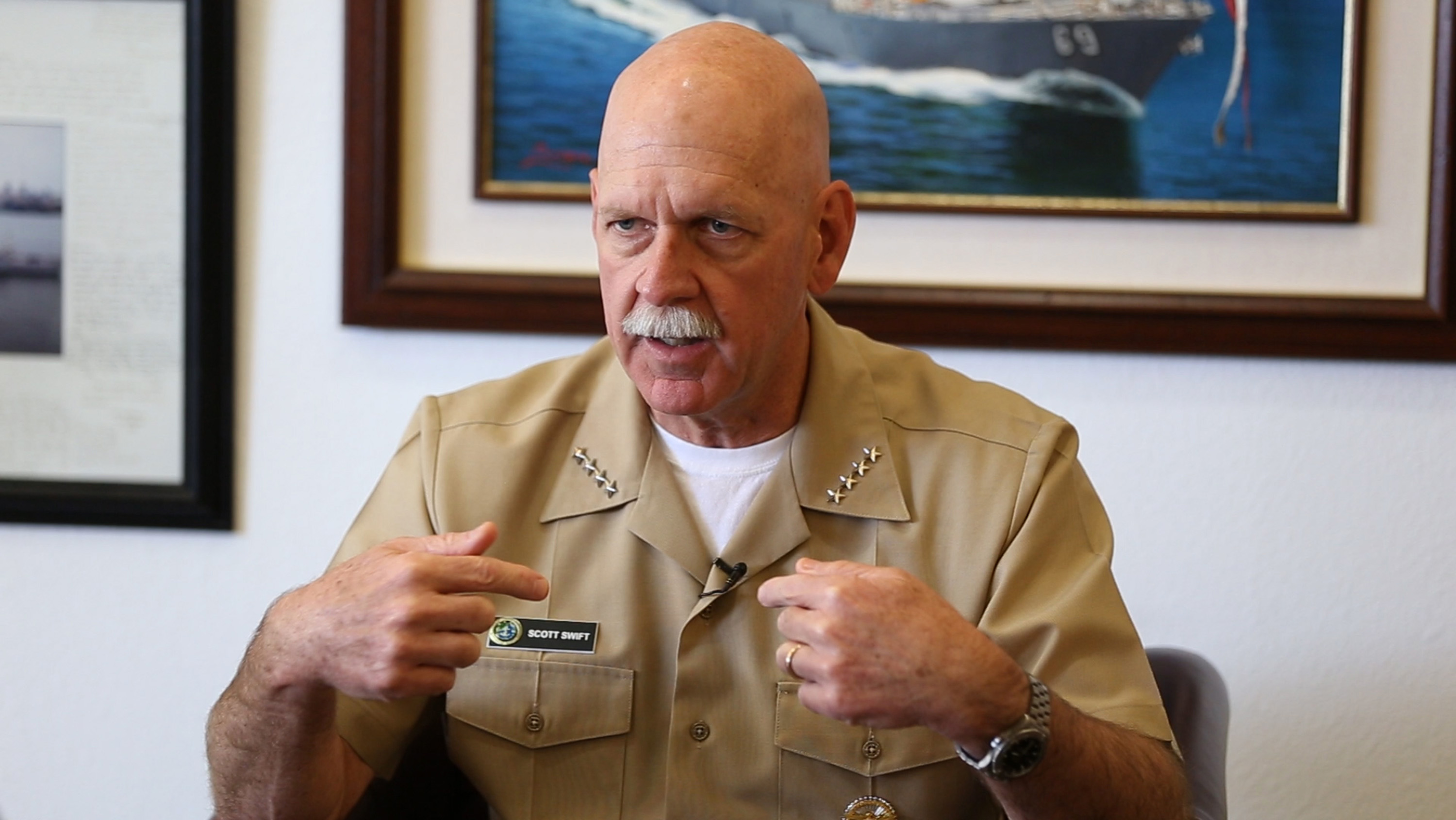 Pacific Fleet commander vows to fix Navy culture that triggered crashes Featured