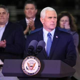 US NEWS TEXAS SHOOTING PENCE 5 DA 320x320 - Pence: Air Force 'moving aggressively' to find out how Texas killer's conviction slipped through the cracks