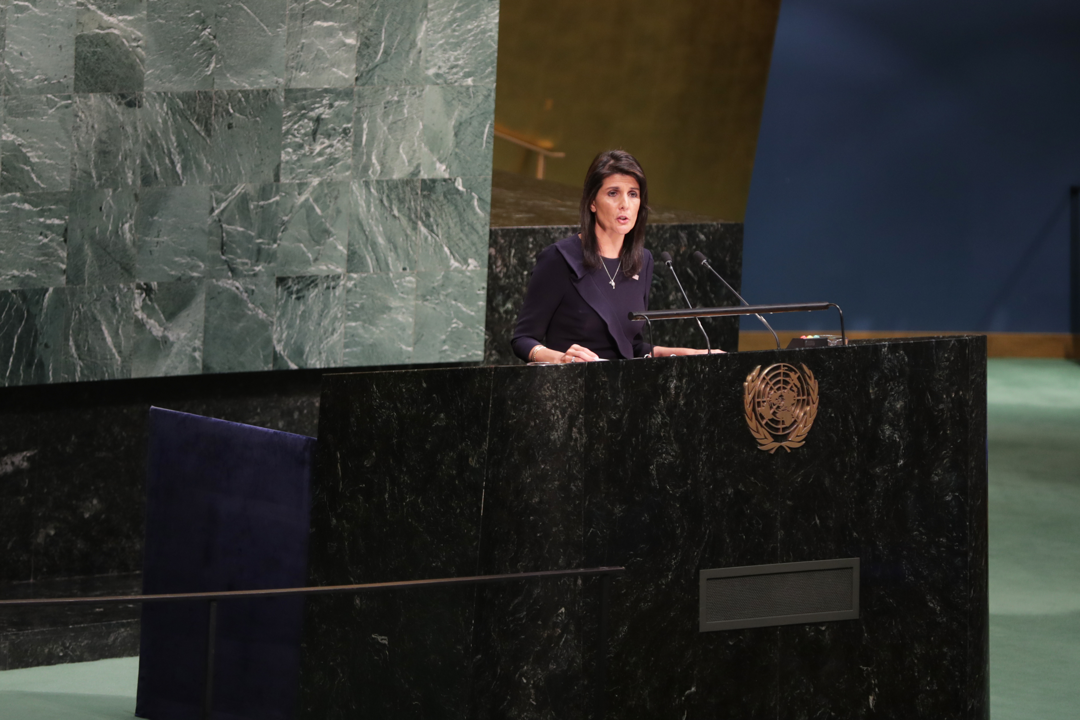 Nikki Haley tells United Nations: You're not the boss of US Featured