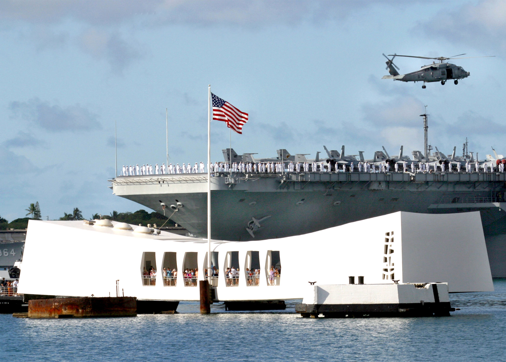 HAPPENING NOW: 75th Anniversary National Pearl Harbor Remembrance Day Livestream Featured