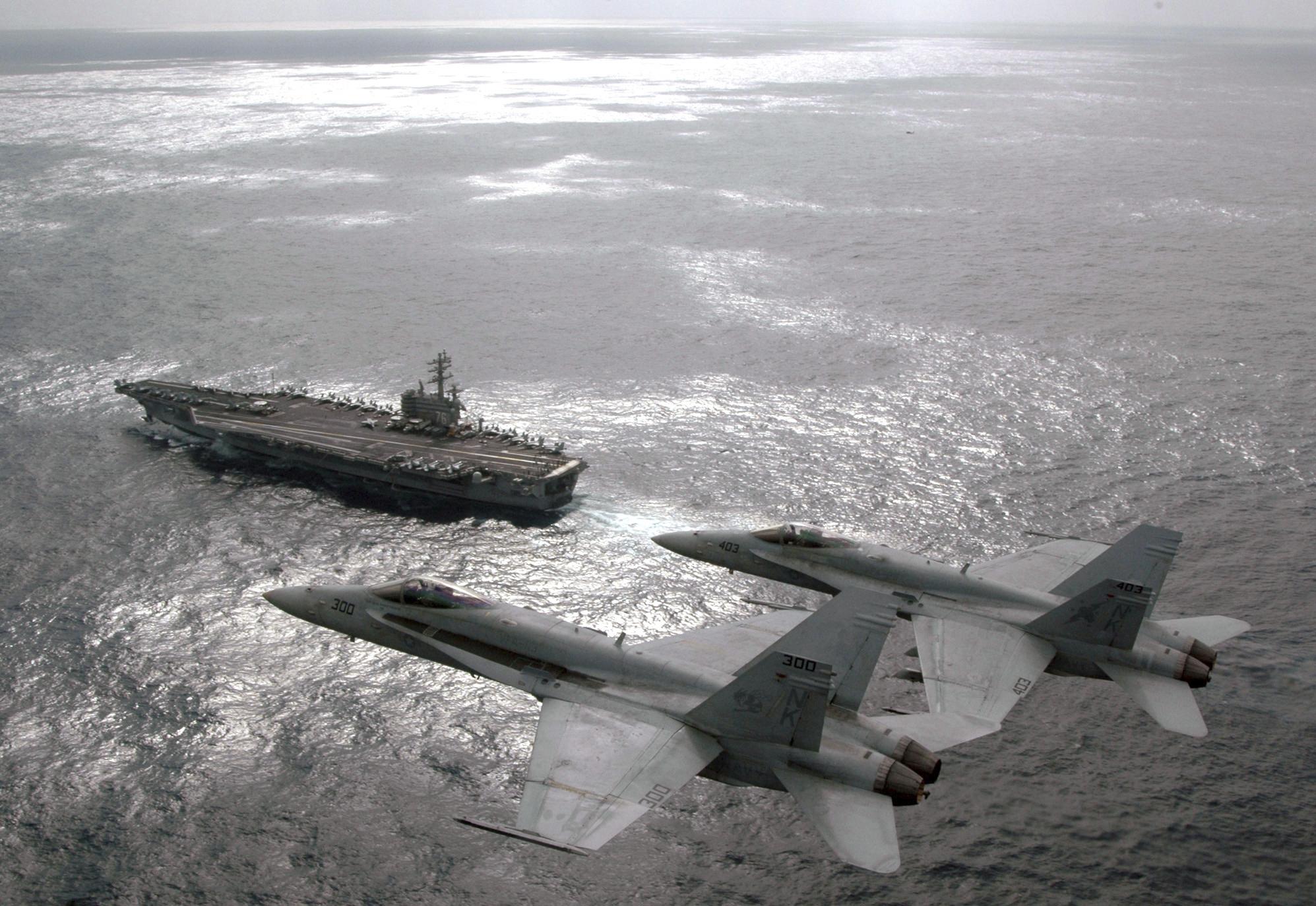 U.S. Jets Scramble After Russian Aircraft Buzzes USS Ronald Reagan Off South Korea Featured