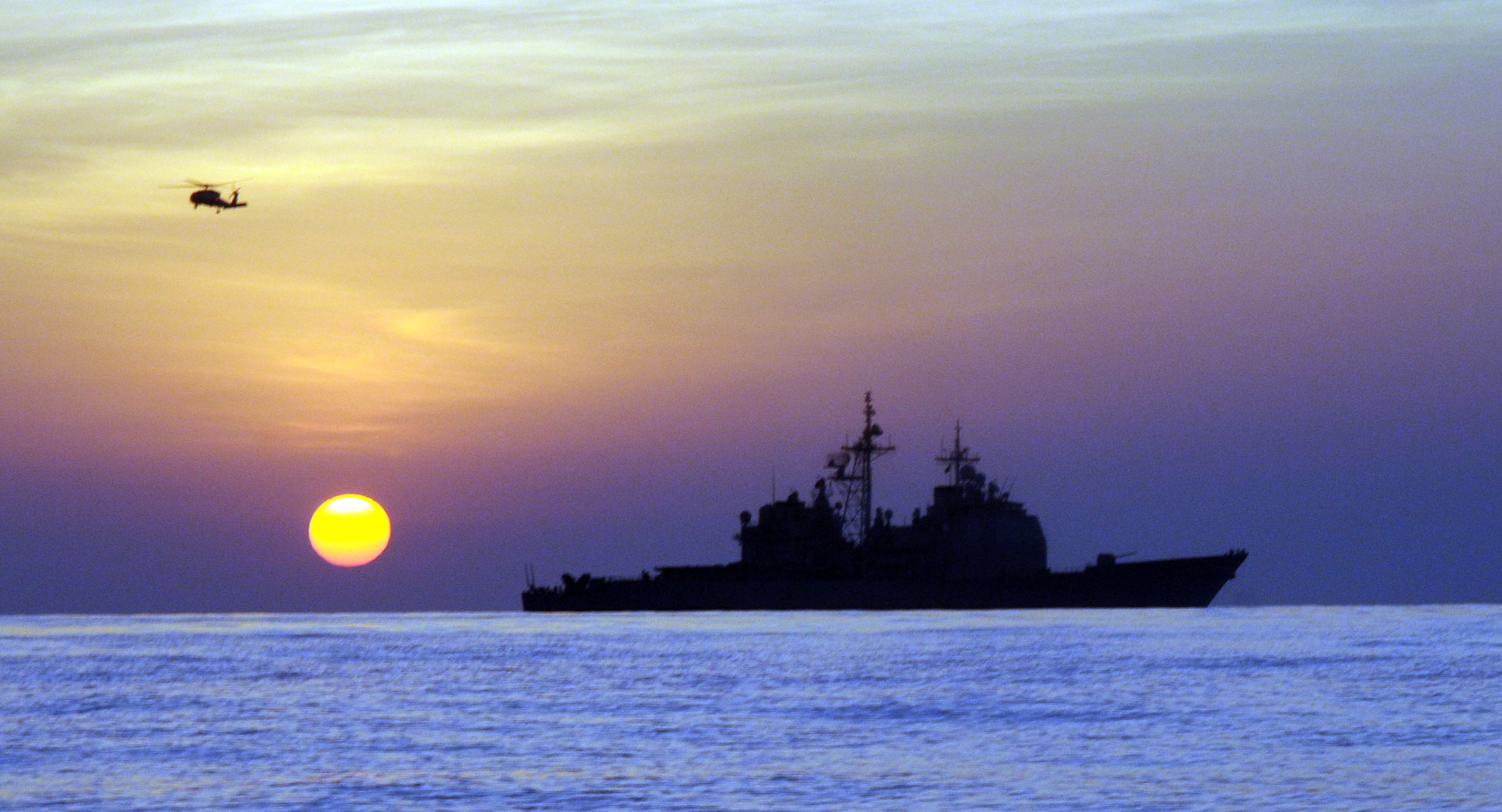 Showdown In The Gulf Of Aden: Iranian Warships Encroach On USS Mason After Houthi Attacks Featured