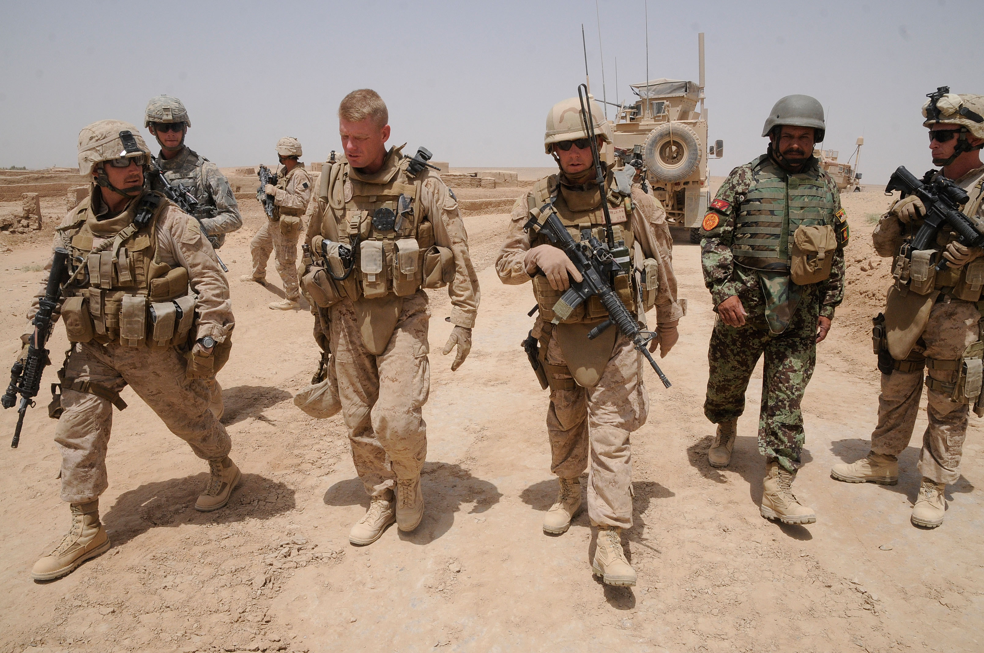 100+ Americans Volunteer To Fight Alongside Anti-ISIS Militias In The Middle East Despite State Dept. Warnings Featured
