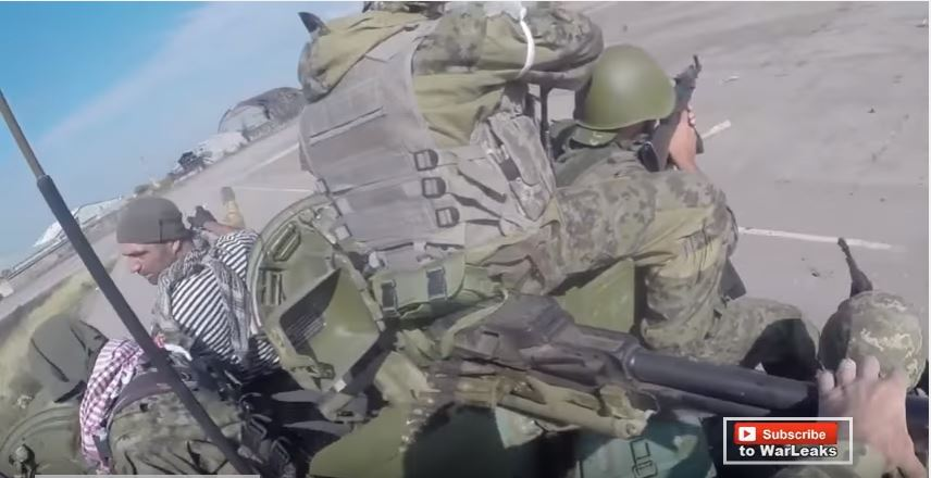 Helmet Cam Firefight Of Pro-Russia Rebels In Heavy Combat During Assault On Donetsk Airport Featured