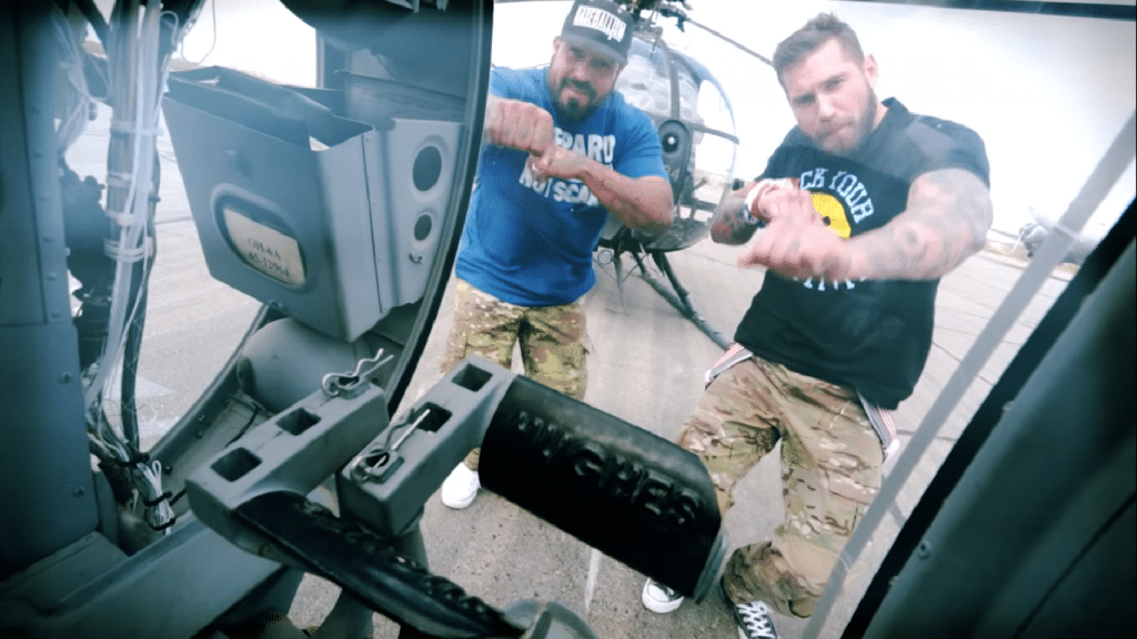 Army Ranger vet Mat Best's rap video has 3 million views and counting