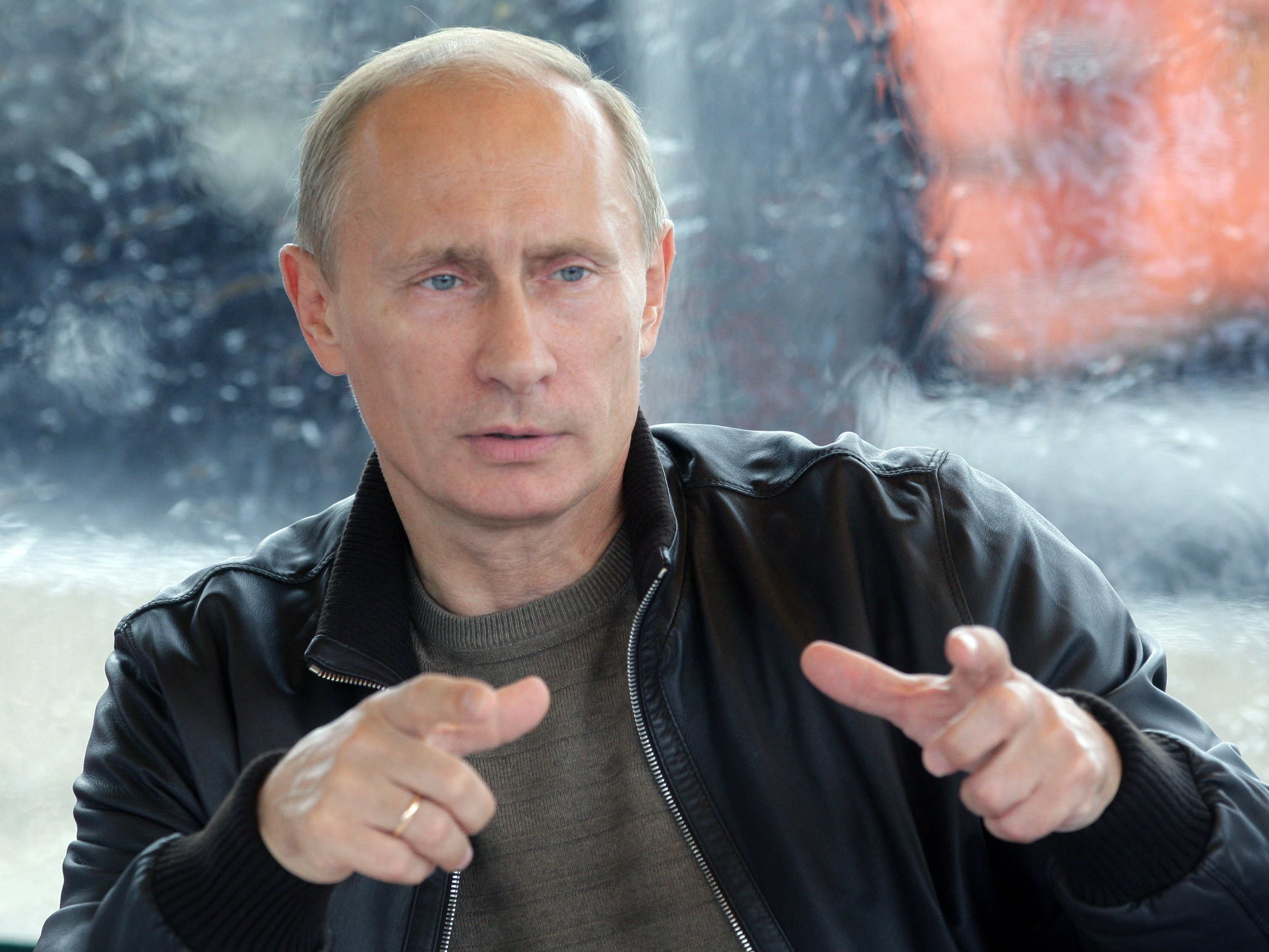 Vladimir Putin 12020 - Macron Levels Remarkable Attack On Russian 'Propaganda' Organs As Putin Stands By His Side