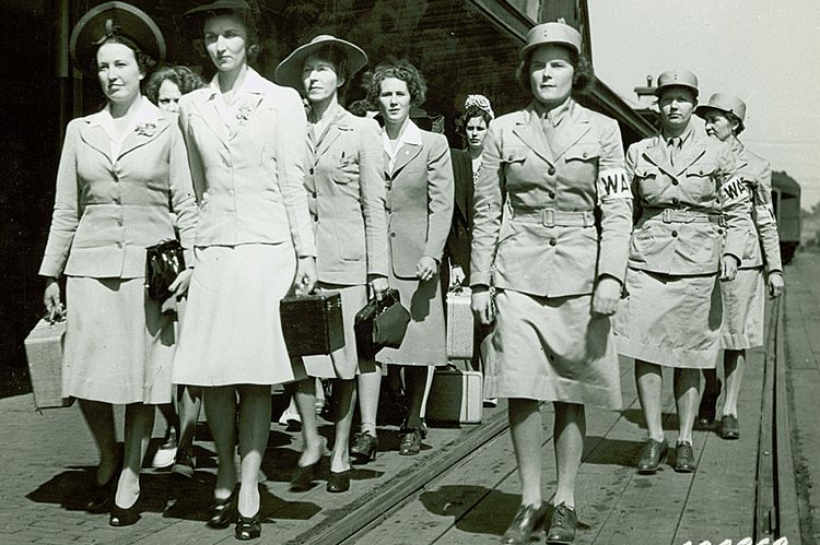 WAACs - This Day In History: A Bill Establishing The Women's Army Corps Became Law