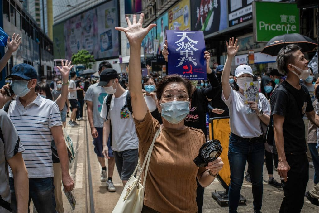 Communist China says Hong Kong protests are 'threat to national security'