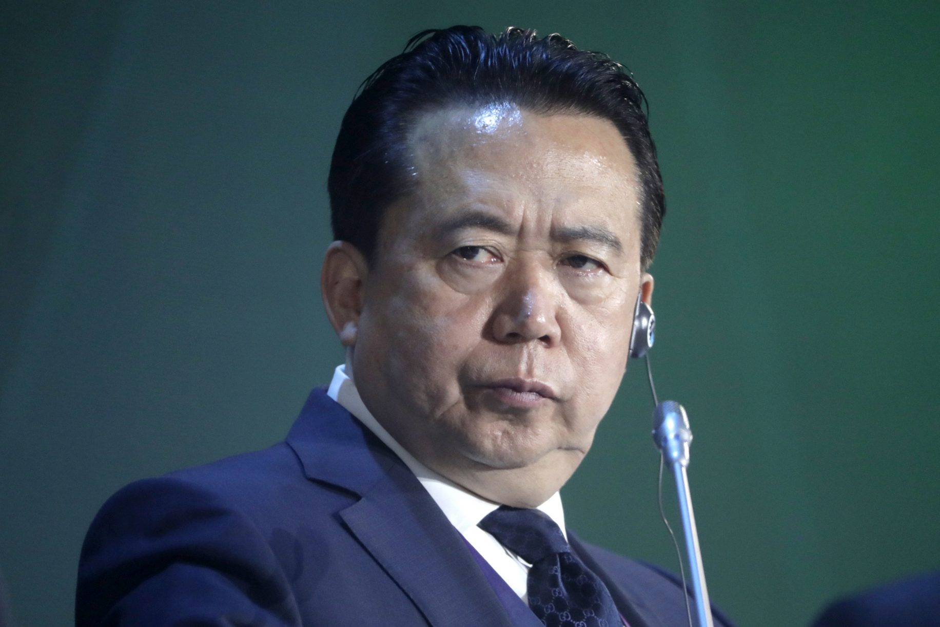 Former Interpol chief pleads guilty to bribery in China