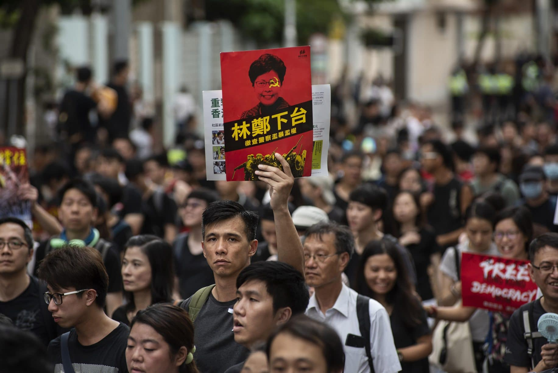 Dozens injured after police storm Hong Kong shopping mall, pursue protesters