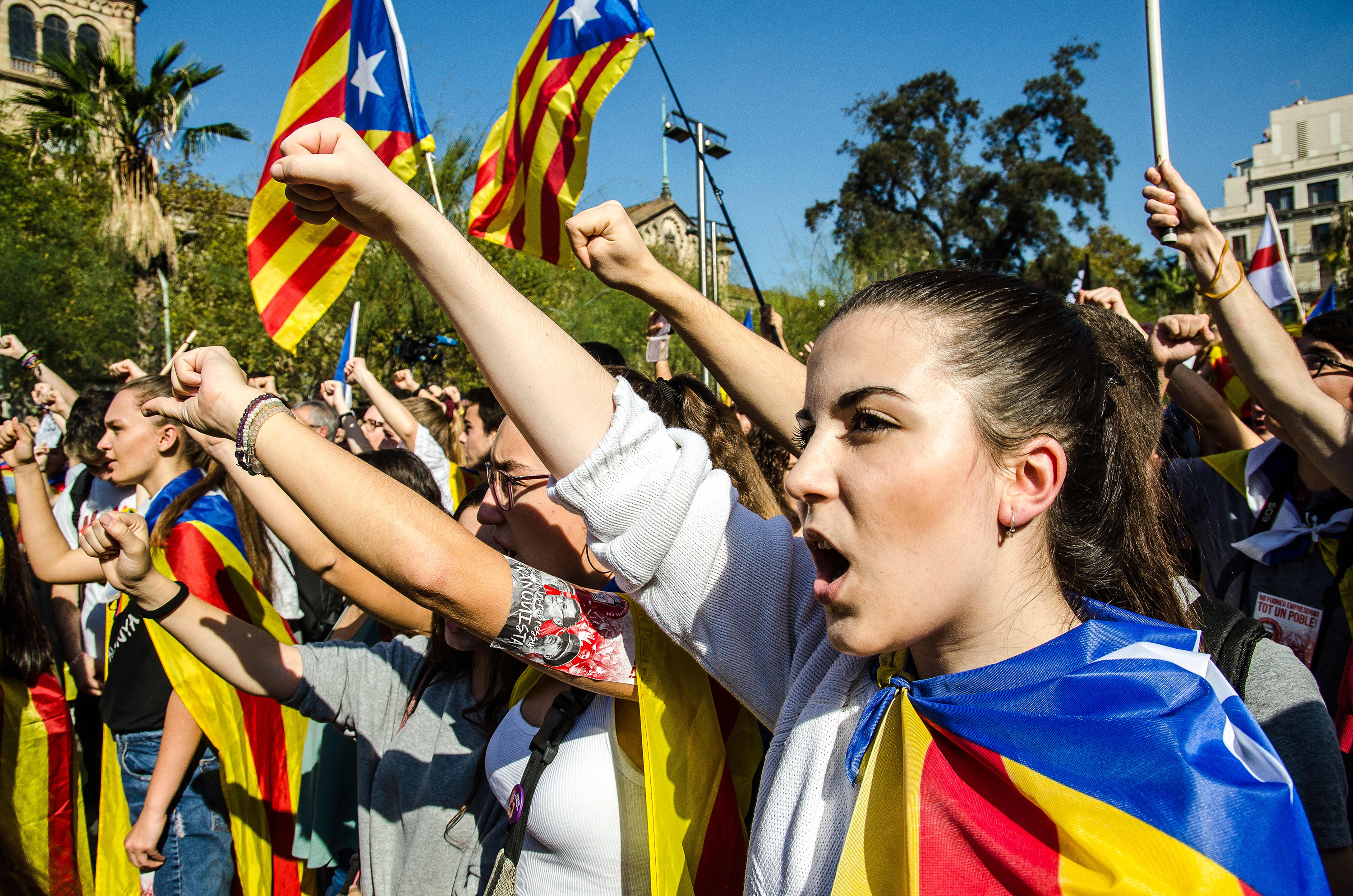 Barcelona and its region Catalonia votes to secede from Spain; Senate responds by approving regional takeover Featured