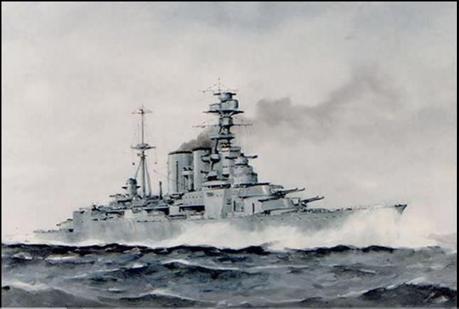 WWII Battleships And Battlecruisers