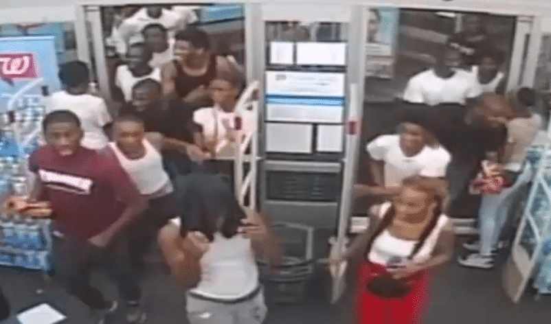 VIDEO: 60 teens attack employees, vandalize and loot Philly drug store