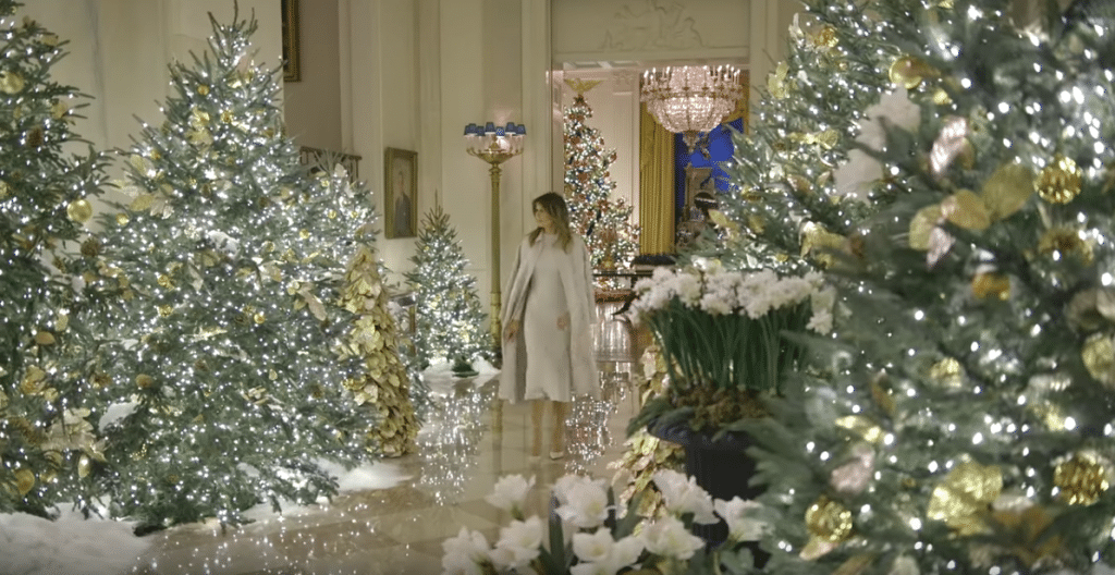 VIDEO: First Lady Melania Trump unveils 'Spirit of America' White House Christmas decorations
