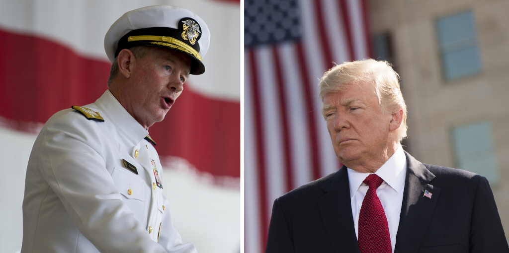 Bin Laden raid chief Adm. McRaven slams Trump and claims 'may be time for new President'