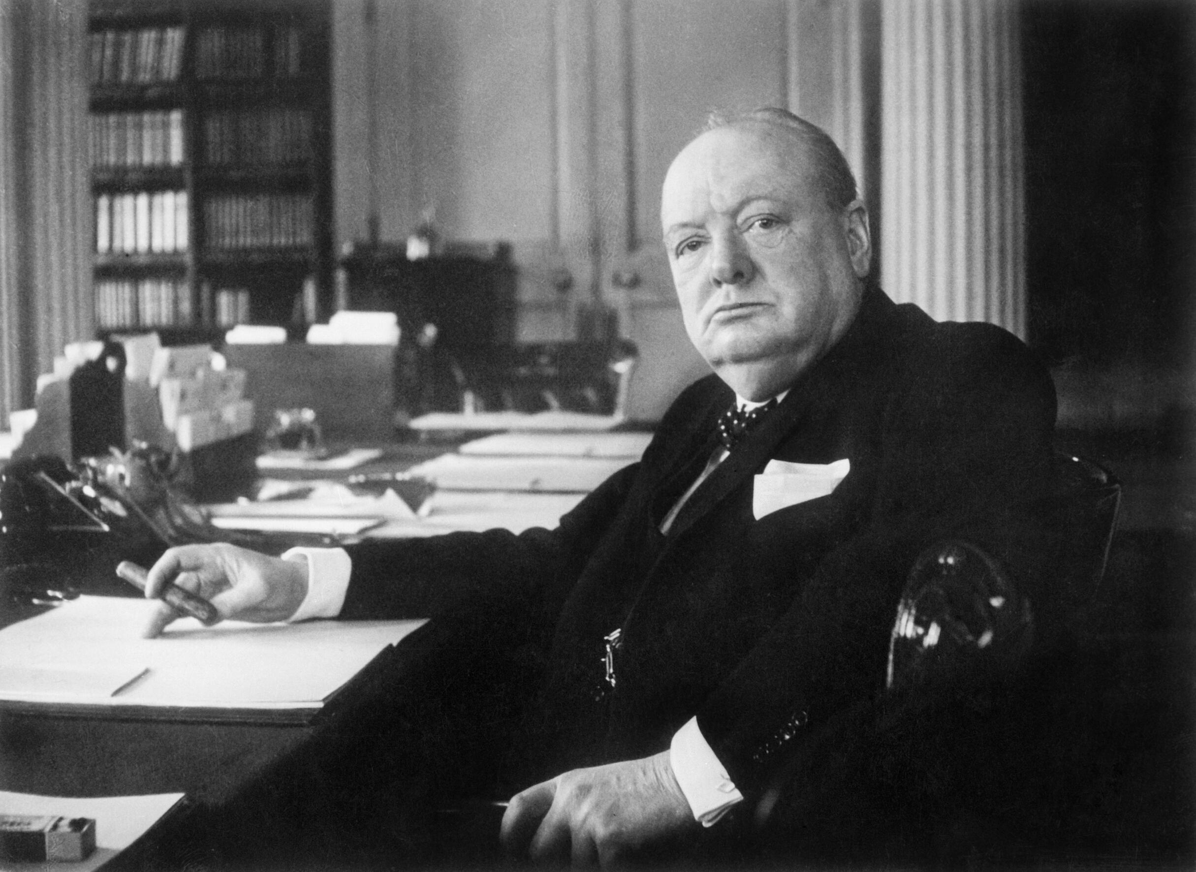 Winston Churchill Was Once Prescribed Alcohol During His Meals By His Doctor Featured