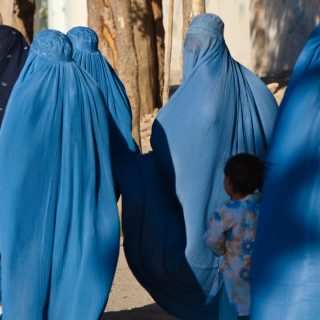 Women in burqa with their children in Herat Afghanistan 320x320 - German Politicians Are Sick Of It All: Demand Banning Burqas And Deportation Of Refugees