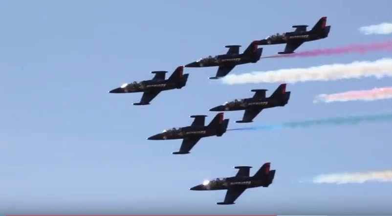 (VIDEO) See The World's Largest Wall Of Fire During 2017 Yuma Airshow Featured
