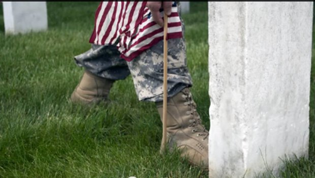 (VIDEO) Flags In Memorial Day Tradition at Arlington National Cemetery Featured