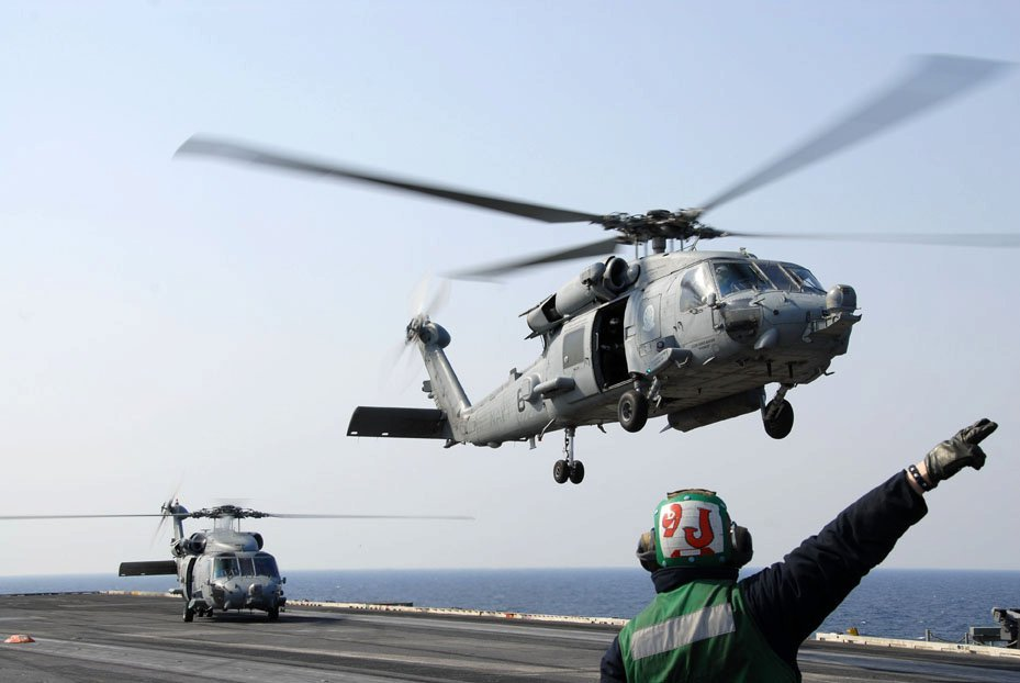 and two squadrons of seahawk helicopters - 3 US carriers are now in the Pacific amid tensions with North Korea — here's what they bring with them