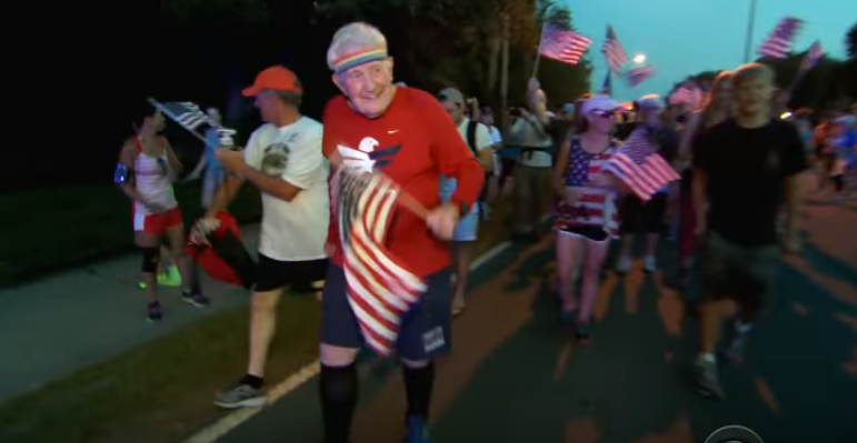 World War II Vet Finishes 3 Year And 3,000 Mile Run Coast To Coast Featured