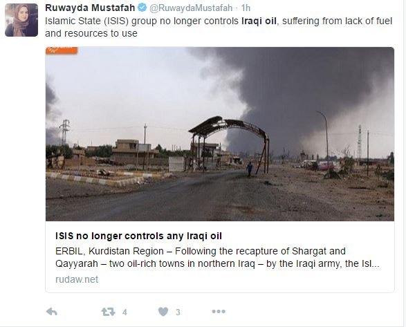 asdfew - ISIS Facing Financial Struggles After Losing Control Of Iraqi Oil