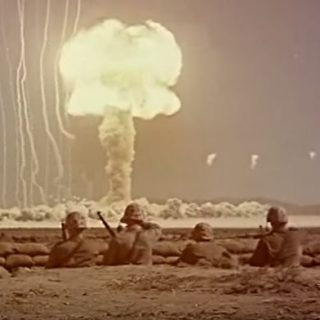asdfsadfsadfsadfasdf 320x320 - Watch Color Footage Of American Soldiers Getting Exposed To Nuclear Blasts In The 1940's