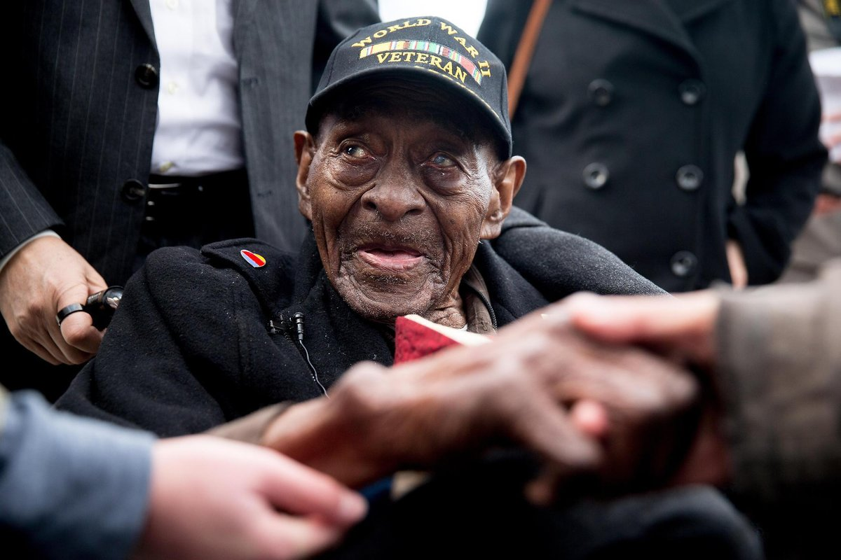 Oldest U.S. World War II Veteran Passes Away At 110 Years Old Featured