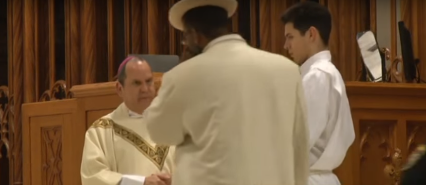 (VIDEO) New Jersey Man Punches Catholic Bishop In The Face During Mass Featured