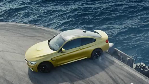 (VIDEO) This new BMW runs rings around the USS John C Stennis – and you won't believe how Featured
