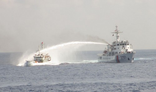 Chinese Navy Attacks And Rams Vietnamese Vessels Featured