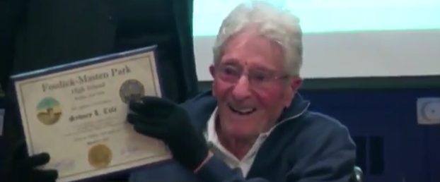 102-Year-Old WWII Vet Receives High School Diploma & Long Overdue Medals Featured
