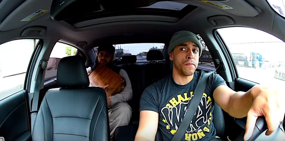 (VIDEO) ISIS passenger takes a ride with combat veteran Uber driver Featured