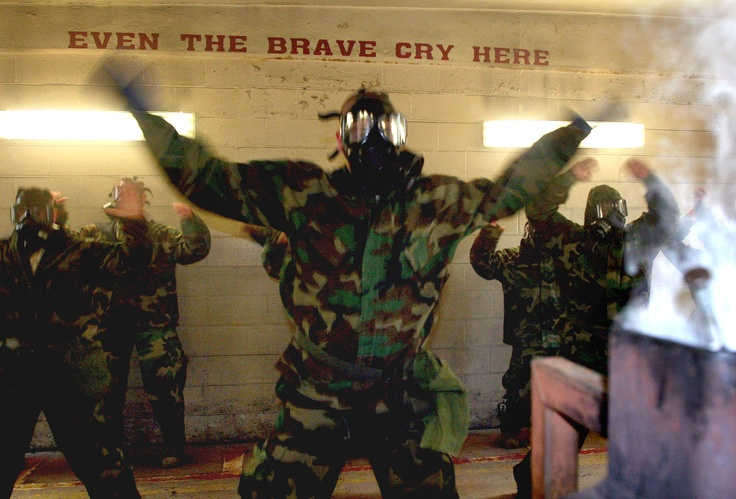 (Video) Watch These U.S Marines Take On The Gas Chamber Featured