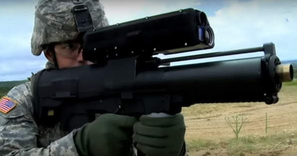 Watch The XM-25 Grenade Launcher In Action Featured