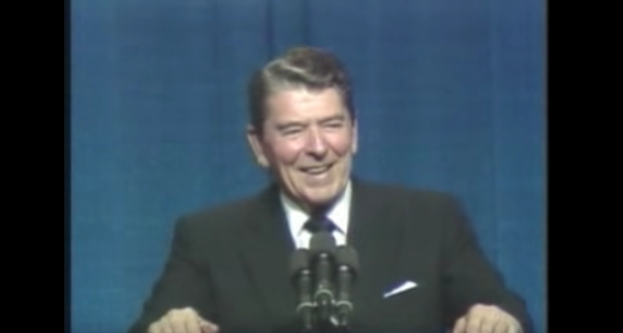 Watch This Collection of President Ronald Reagan Telling Soviet Jokes Featured