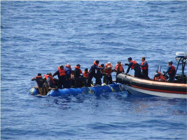The Coast Guard Stops 38 Cuban Migrants Short Of Florida Keys Featured