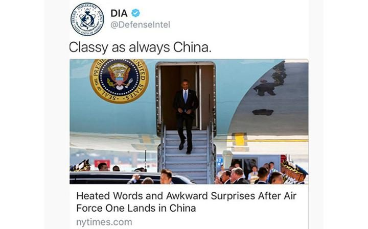 dia - CHINA VS U.S.: Chinese Officials And U.S. Reporters Fight As Obama Landed For G20 Summit