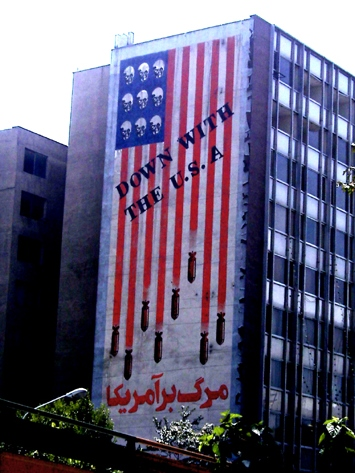 down with usa in tehran