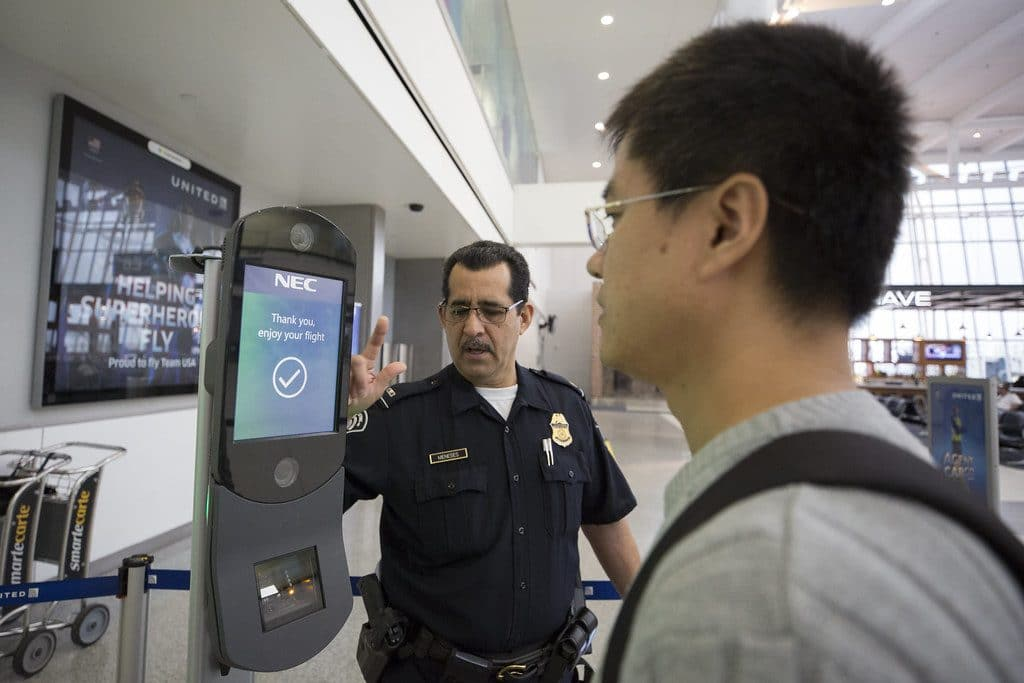 Airlines are using facial recognition at boarding gates