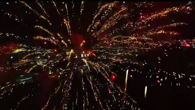Fireworks Drone Flight Reveals Civilian Drone Future — And Is Really Cool To Watch Featured