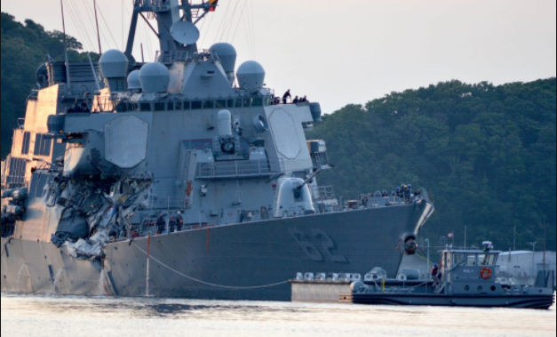 Mother of USS Fitzgerald sailor says son kept diving to try & save Navy shipmates after collision Featured